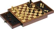 Magnetisches Schachspiel mit Schubladen