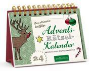 Der ultimativ knifflige Advents-Rätsel-Kalender - Cover
