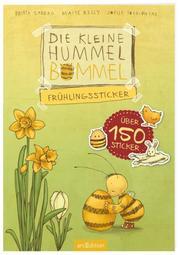 Die kleine Hummel Bommel - Frühlingssticker - Cover