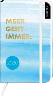 myNOTES Buchkalender 'Meer geht immer' 2020 - Cover