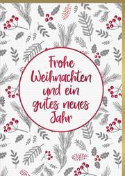 Grußkarten zu Weihnachten (Karten) - Cover