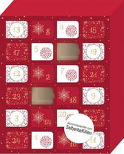 Merry Christmas - Ein Adventskalender deluxe zum Selbstbefüllen - Cover