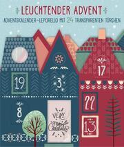 Leuchtender Advent - Motiv: Häuser bunt