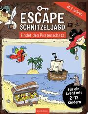 Escape-Schnitzeljagd - Findet den Piratenschatz! - Cover
