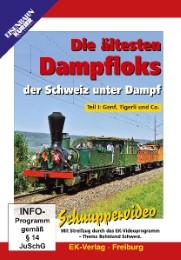 Die ältesten Dampfloks der Schweiz unter Dampf