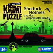 Das mysteriöse Krimi-Puzzle - Sherlock Holmes und das gesprenkelte Band