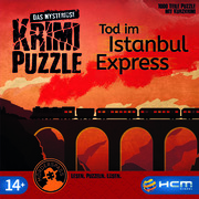 Das mysteriöse Krimi-Puzzle - Tod im Istanbul Express