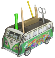 Stiftebox 'VW Bus T1 Hippie' - Cover