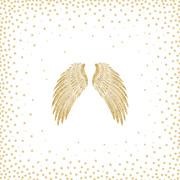 Servietten 'Holy Wings'