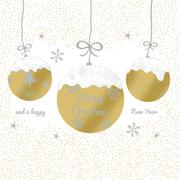 Servietten 'A Very Merry Christmas gold'