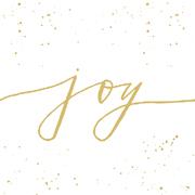 Servietten 'Joy! white'