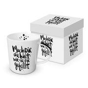 Trend Mug Gift Box 'Mach dir die Welt wie sie dir gefällt'