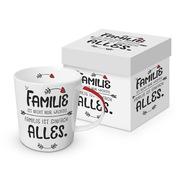 Trend Mug Gift Box 'Familie ist nicht nur wichtig, Familie ist alles'