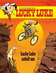 Lucky Luke Hommage 3 - Lucky Luke sattelt um