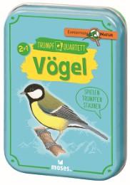 Trumpf-Quartett Vögel - Cover