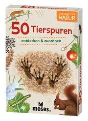 50 Tierspuren entdecken & zuordnen - Cover