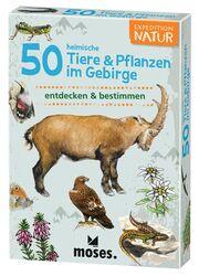 50 heimische Tiere & Pflanzen im Gebirge erkennen & bestimmen - Cover