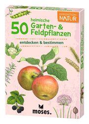 50 heimische Garten- & Feldpflanzen