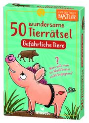 50 wundersame Tierrätsel - Gefährliche Tiere