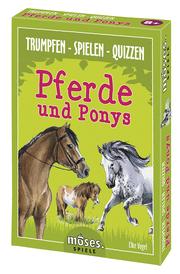Trumpf-Quartett Pferde - Cover
