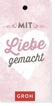 Geschenkanhänger 'Liebe gemacht' - Cover