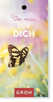 Geschenkanhänger 'Von mir für dich' - Cover