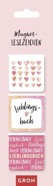 Magnetlesezeichen Lieblingsbuch - Cover