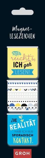Magnetlesezeichen Mir reicht's, ich geh lesen! - Cover