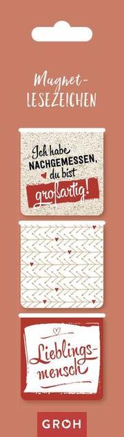 Magnetlesezeichen: Lieblingsmensch - Cover