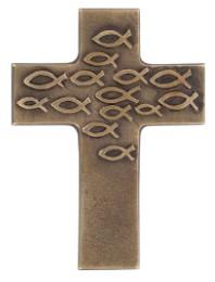Bronzekreuz 'Gottes Segen zur Taufe' - Cover