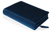 Gotteslob-Buchhülle Blau/Leder