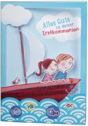Glückwunschkarte 'Alles Gute zu deiner Erstkommunion'
