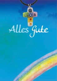 Grußkarte mit Murano-Kreuz 'Alles Gute' - Cover