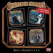 Sherlock Holmes - Die geheimen Fälle des Meisterdetektivs, Box 1: Folgen 1,2,3,4