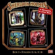 Sherlock Holmes - Die geheimen Fälle des Meisterdetektivs, Box 5: Folgen 15,16,17,18