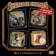 Sherlock Holmes - Die geheimen Fälle des Meisterdetektivs, Box 2: Folgen 5,6,7,8