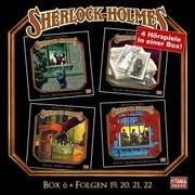 Sherlock Holmes - Die geheimen Fälle des Meisterdetektivs, Box 6: Folgen 19,20,21,22