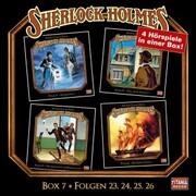 Sherlock Holmes - Die geheimen Fälle des Meisterdetektivs, Box 7: Folgen 23,24,25,26