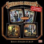 Sherlock Holmes - Die geheimen Fälle des Meisterdetektivs, Box 8: Folgen 27,28,29