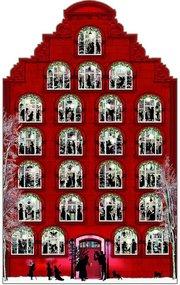 Nostalgisches Weihnachtshaus