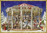 Nostalgisches Weihnachtskarussell
