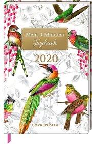 Mein 3 Minuten Tagebuch - Bunte Vögel 2020 - Cover