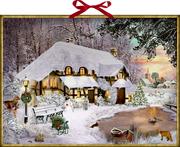 Winterliches Cottage