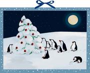 Pinguin-Weihnacht