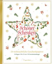 Schöner schenken - 24 weihnachtliche Geschenkpapiere
