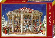 Boxpuzzle Nostalgisches Weihnachtskarussel (1000 Teile)