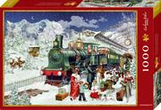 Boxpuzzle Nostalgische Eisenbahn (1000 Teile)
