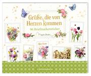 Stickerbuch 'Grüße, die von Herzen kommen'
