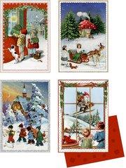 Mini-Adventskalender - Nostalgische Adventspost - Cover