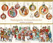 Nostalgische Weihnachtssticker